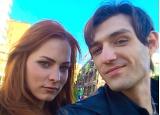 Мэрилин Керро и Александр Шепс осенняя фотосессия