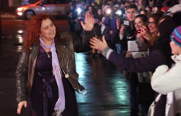 Екатерина Борисова Баба Катя церемония награждения
