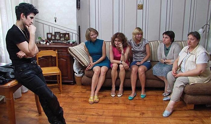 Елена Голунова на съёмках экстрасенсы ведут расследование Битва сильнейших