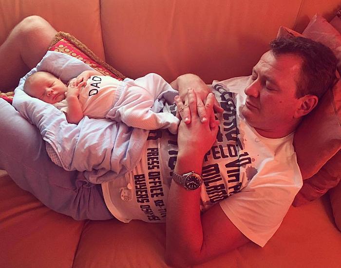 Марат Башаров и сын Марсель