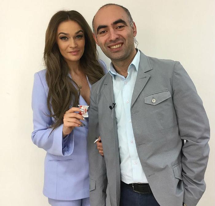 Алена Водонаева и Зираддин Рзаев