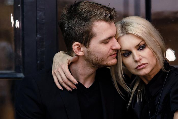 Татьяна Ларина с мужем Юлием Мицкевичем-Далецким