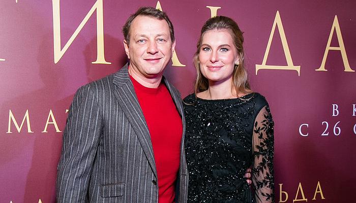 Мароат Башаров с супругой Елизаветой